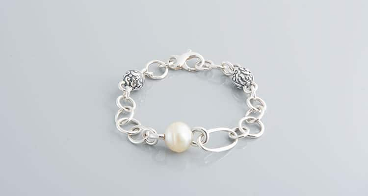 Artissimo Bracelets sterling silver broome pearl