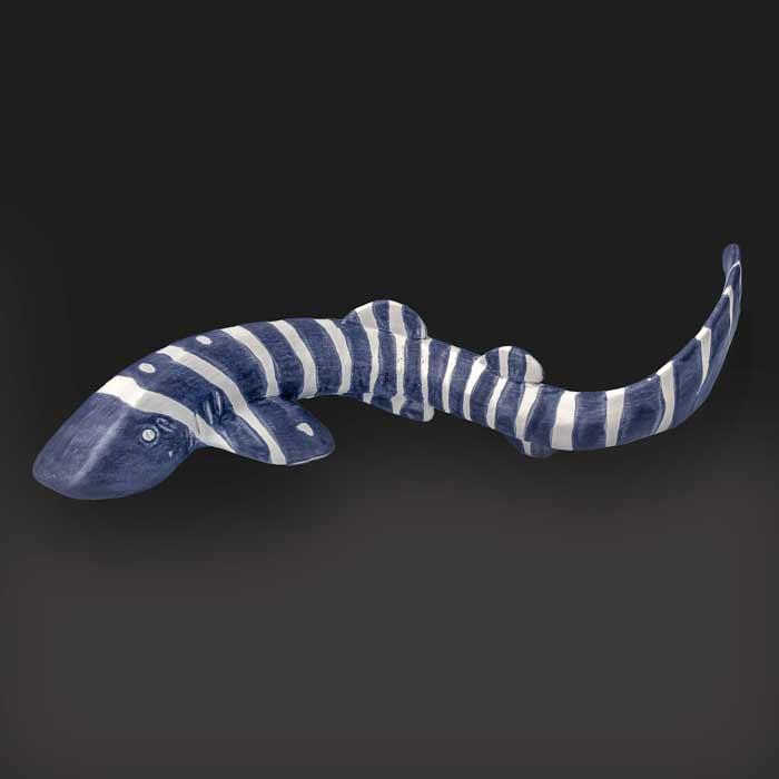 Leopard shark ceramic