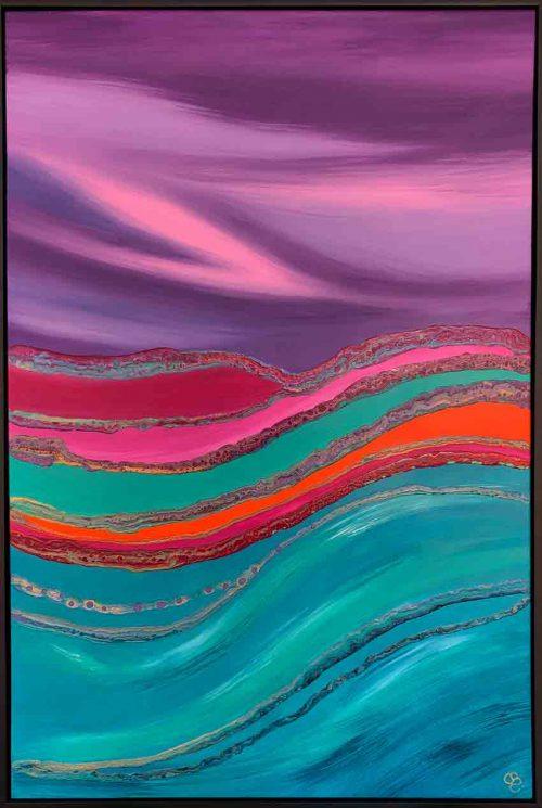 Purple-Rain-Painting