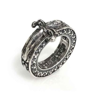 Ring Silver Sword sterling silver