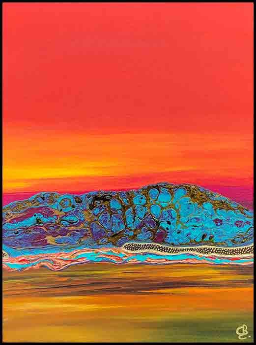 Golden Hour Broome Acylic